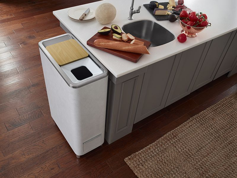 While it has some kinks to work out, this sleek new device could help in the bid to limit landfill-bound waste. (WLabs of Whirlpool Corporation)