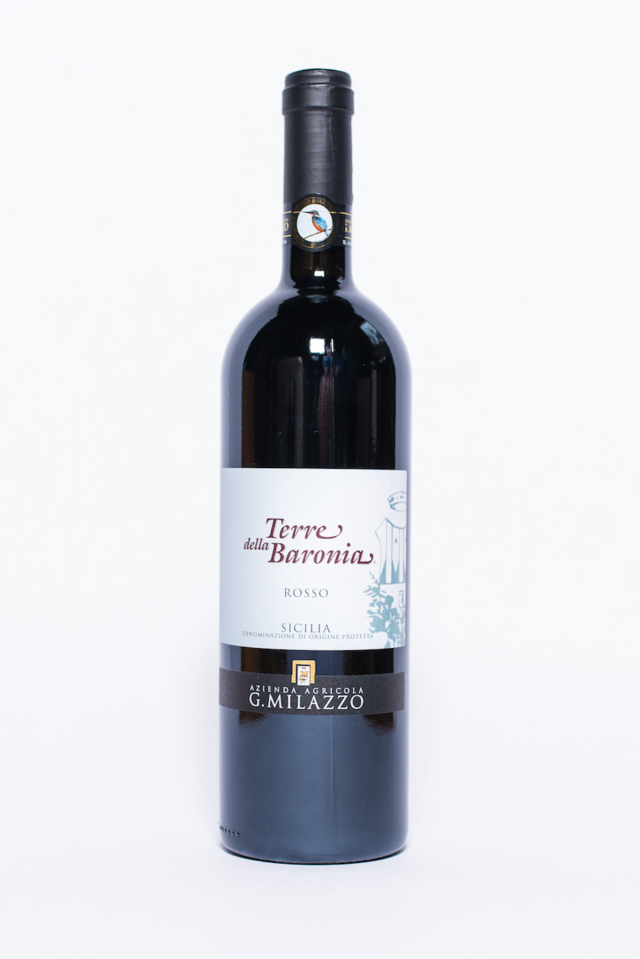 Terre della Baronia Rosso 2013    Producer:   Azienda Agricola G. Milazzo    Region : Sicily  Grapes:  Nero d'Avola, Perricone  Characteristics:  Opulent mouthfeel, smooth with ripe red fruits. Refined tannins lead to a long and persistent finish. A big dark red that will pair well with red meats and rich sauces.