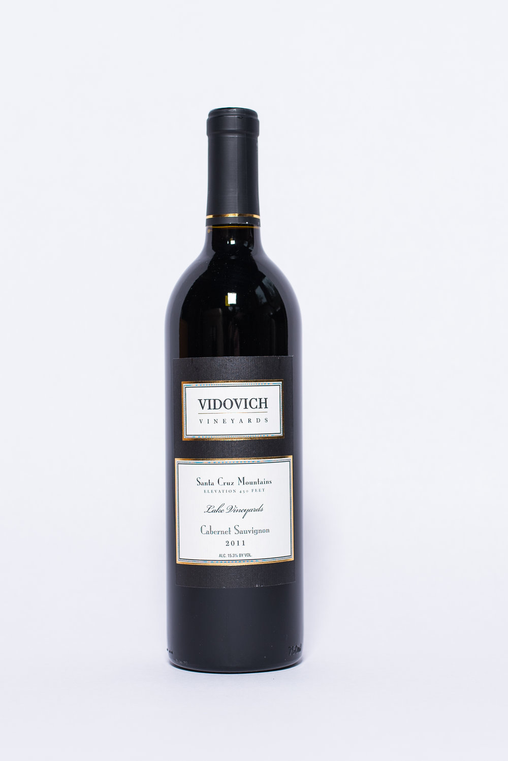 Vidovich Cabernet Sauvignon 2011    Producer:  Vidovich Vineyards   Region:  Santa Cruz  Grapes:  Cabernet Sauvignon  Characteristics:  Bell pepper aroma, hints of eucalyptus. This is a fully developed cab with moderate to mild tannin, good balance and medium body.