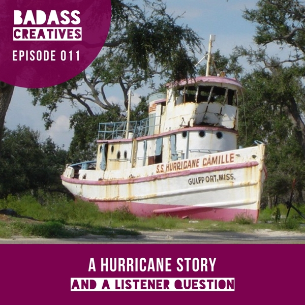 This week host Mallory Whitfield takes a look back at her own hurricane story, plus she answers a listener question about selling on Etsy.