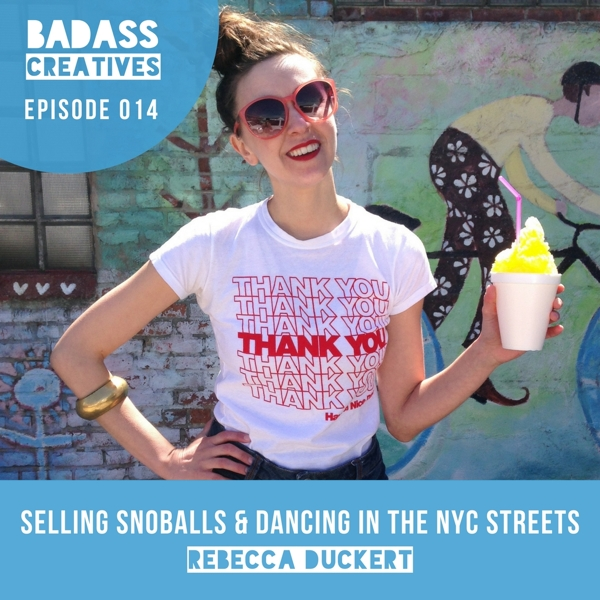 This week's guest is Rebecca Duckert of Sweetface Snoballs. We discuss starting a creative business in a new city and bringing New Orleans culture to the streets of NYC.