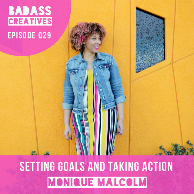 Monique Malcolm is the host of the Pimp Your Brilliance podcast and creator of the Visionary Journal, a goal setting system & planner. We talk about how she went from fashion blogger to t-shirt designer to goal setting guru. Monique walks us through the process of taking a physical product from idea to first iteration to manufactured product. She shares the importance of connecting with her email list and Facebook contacts to use Kickstarter to pre-sell her product, and how she's used Pinterest to drive traffic to her website. We also talk about setting goals and creating systems for productivity and time management, plus Monique shares how she got Issa Rae to feature her t-shirt line on Awkward Black Girl on YouTube years before Issa got famous.
