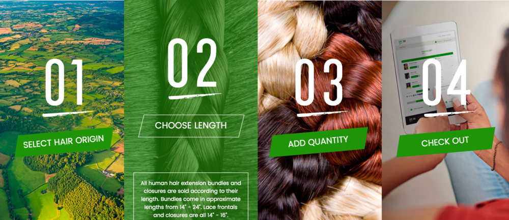 Remy Raw Hair Extensions Copywriting Content Strategy