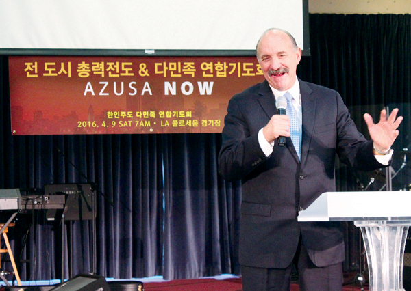 (Photo : Christianity Daily) Lou Engle, the founder of The Call.