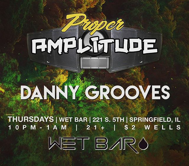 Tonight!  Music from 10-1am at @wetbar217