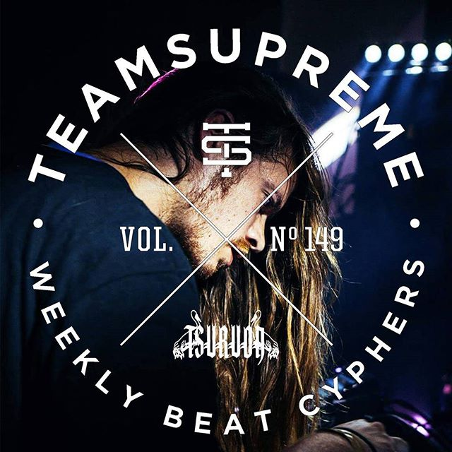 New @beatteamsupreme Cypher curated by @_tsuruda_  They selected a heater of mine, check it at about 19 minutes in.. this mix is pure flames!!