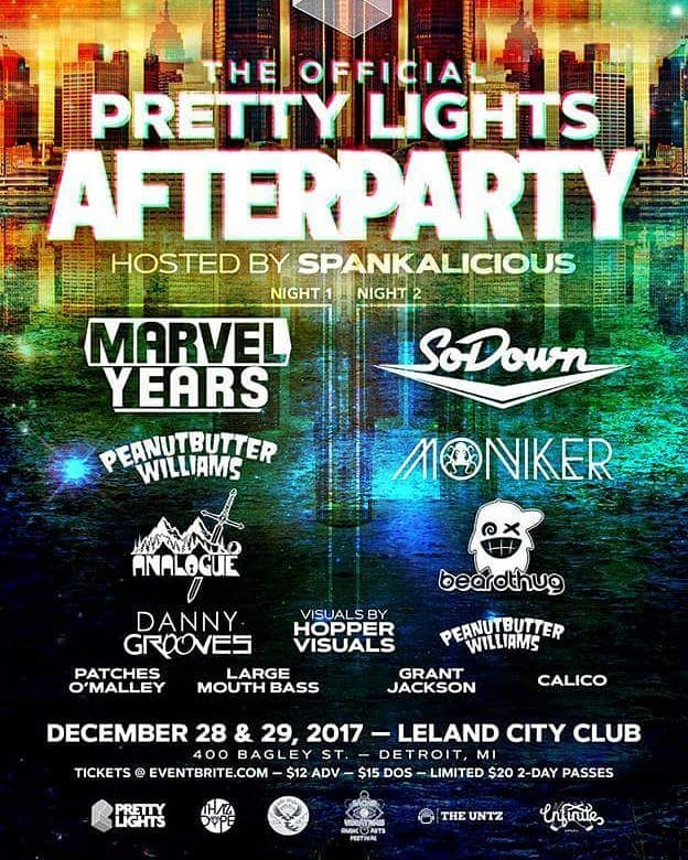 Tomorrow night in Detroit, MI #detroitrockcity #thazdope #theuntz #prettylights