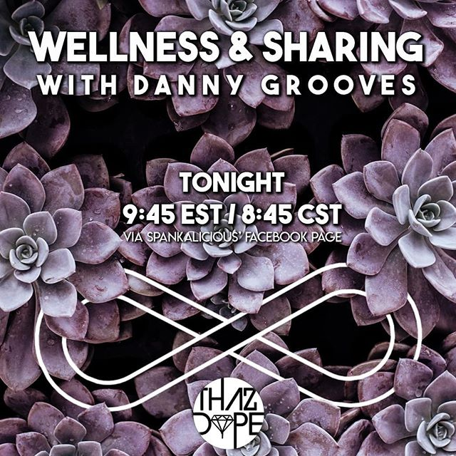 Tonight live from FB via @spankaliciousjones  #thazdope #underground #wellness