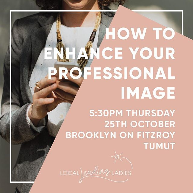 Tumut, Tumba, and Gundagai region ladies listen up. Local Leading Ladies are putting on an evening this Thursday all about bumping up your professional style! We have local speakers and demonstrations, not to mention drinks and gourmet nibblies. Tickets and more information is available at Facebook.com/localLeadingLadies  See you there! . #womensfashion #womeninbusiness #tumut #womensupportingwomen #snowymountains