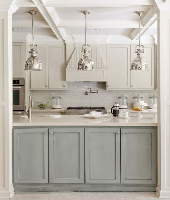 Example Picture of Two Tone Cabinets 2