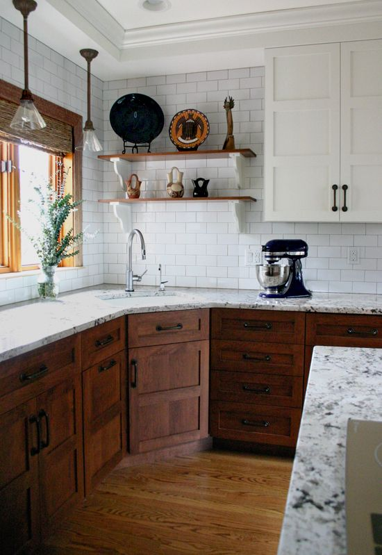 Example Photo of Two Tone Cabinets