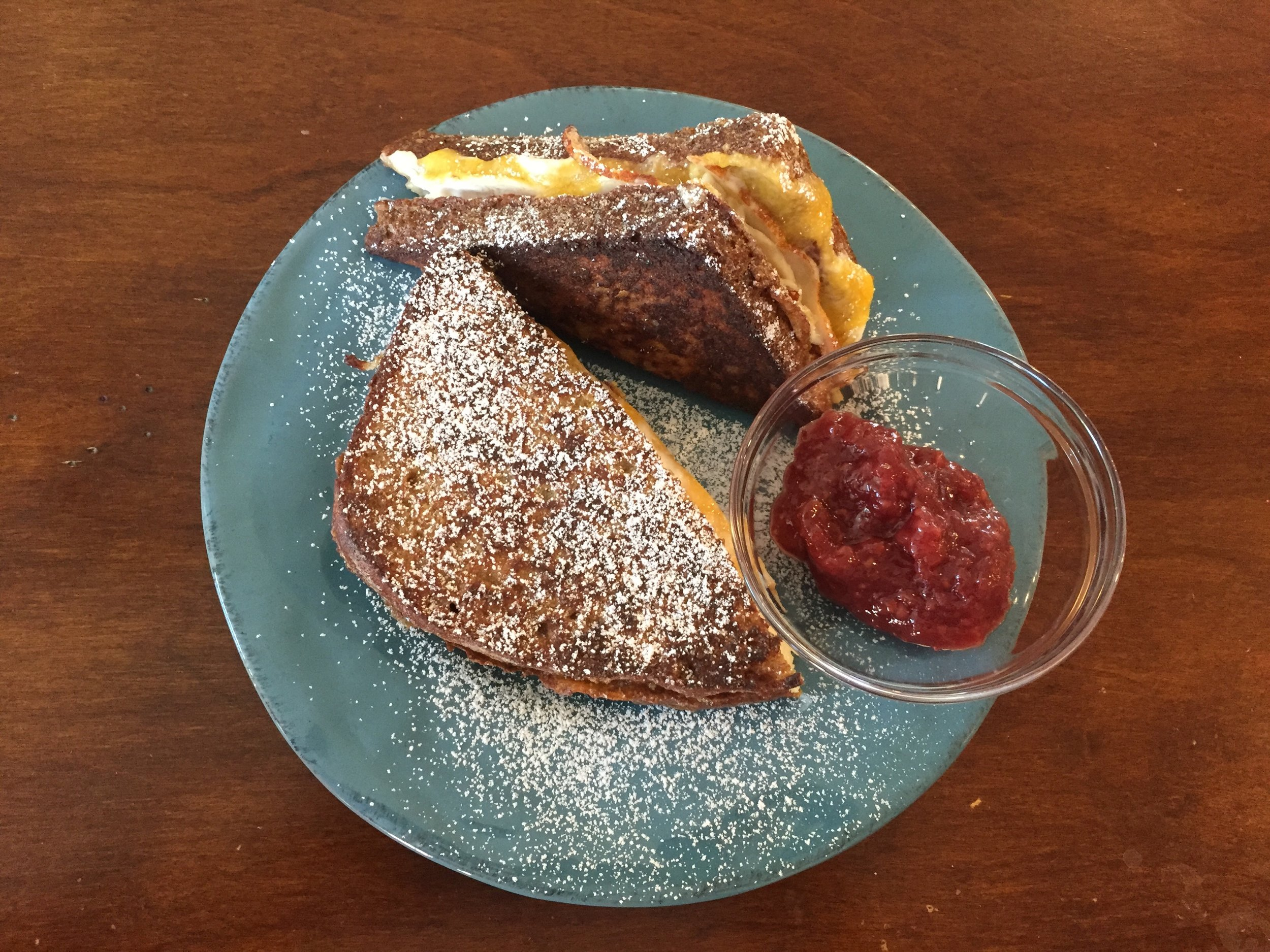 Simple Last Minute Super Bowl Food - French Toast Monte Cristo 2
