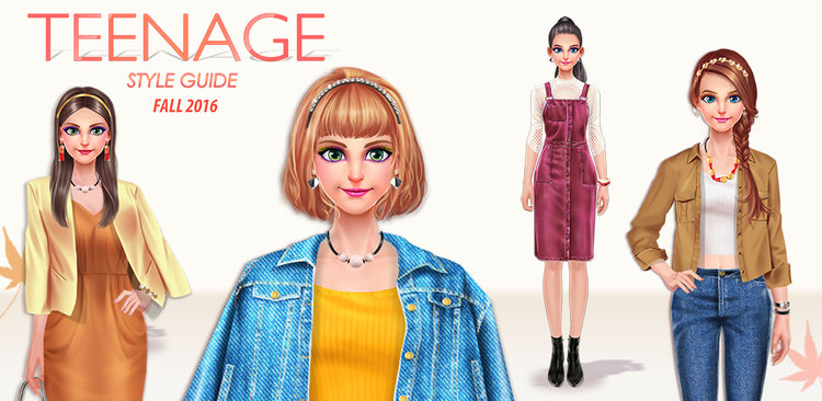 Teenage Style Guide: Fall 16  EXPRESS YOUR UNIQUE STYLE!  Learn about the style guide by going through the catalogue  Start with some makeup makeovers