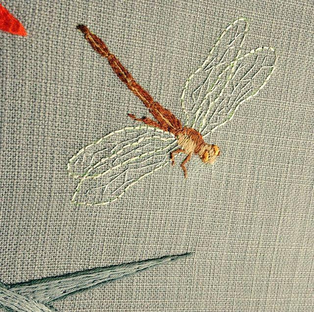 #barok #minute detail #sagogga #wildlife #handembroidery