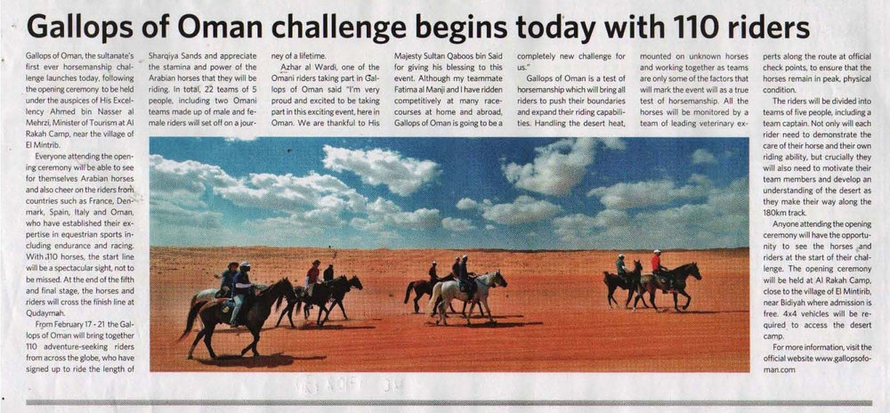 Muscat Daily (Sultane of Oman)