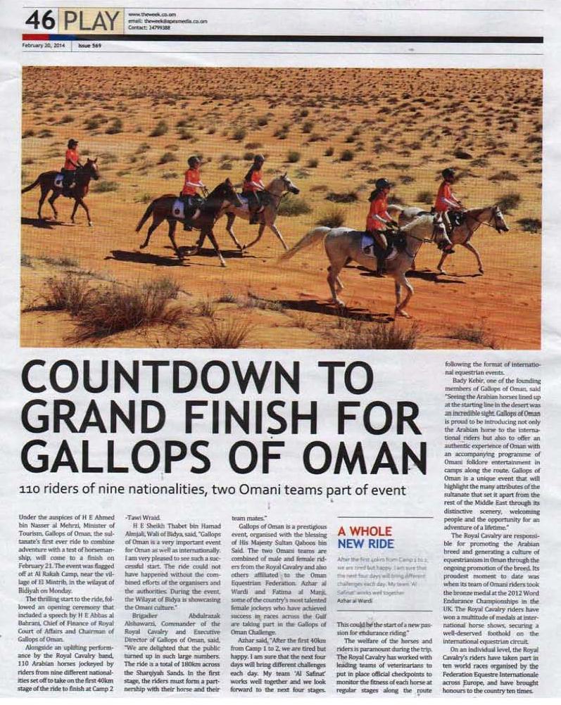 The Week (Sultane of Oman)