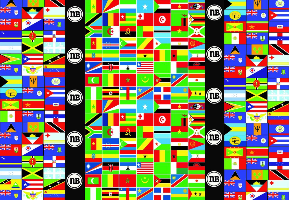 a30b81513cc Wrapping paper african caribbean flags new beacon books jpg 1000x692 Beacon  flags