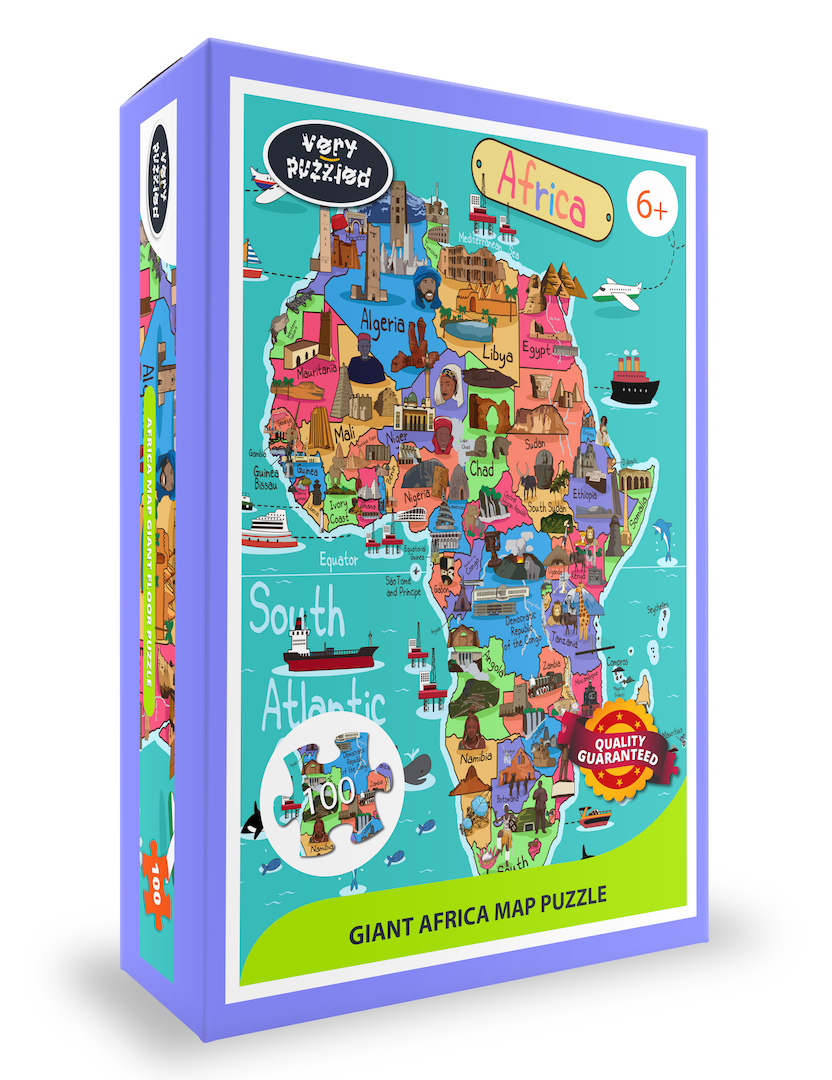Map Of Africa Games.Giant Africa Map Puzzle New Beacon Books