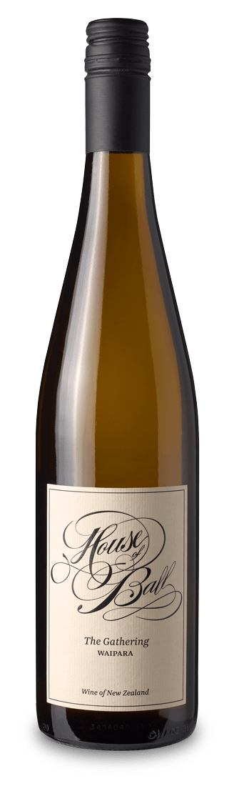 The GatheringWaipara - The Gathering 2016 is an equal blend of Chardonnay, Gruner Veltliner and Riesling.The fruit was hand harvested, fermented separately, then blended and matured in oak barrels.