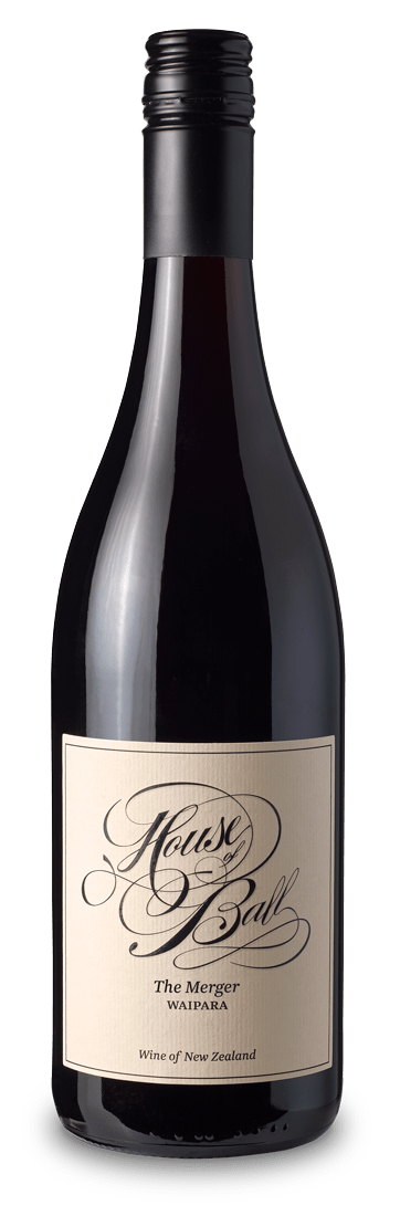 The MergerWaipara - The Merger 2016 is an equal blend of Tempranillo, Pinotage and Pinot Noir which were hand harvested, fermented separately with wild yeasts and matured together producing a smooth, rich, medium bodied wine.