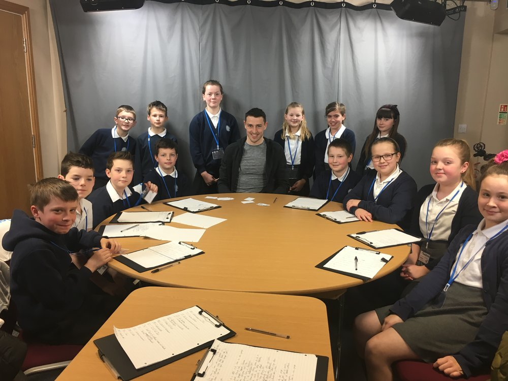 Alkborough Primary with Murray Wallace