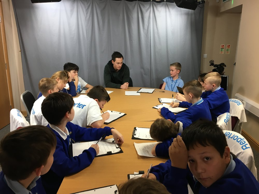Westcliffe Primary with Josh Morris