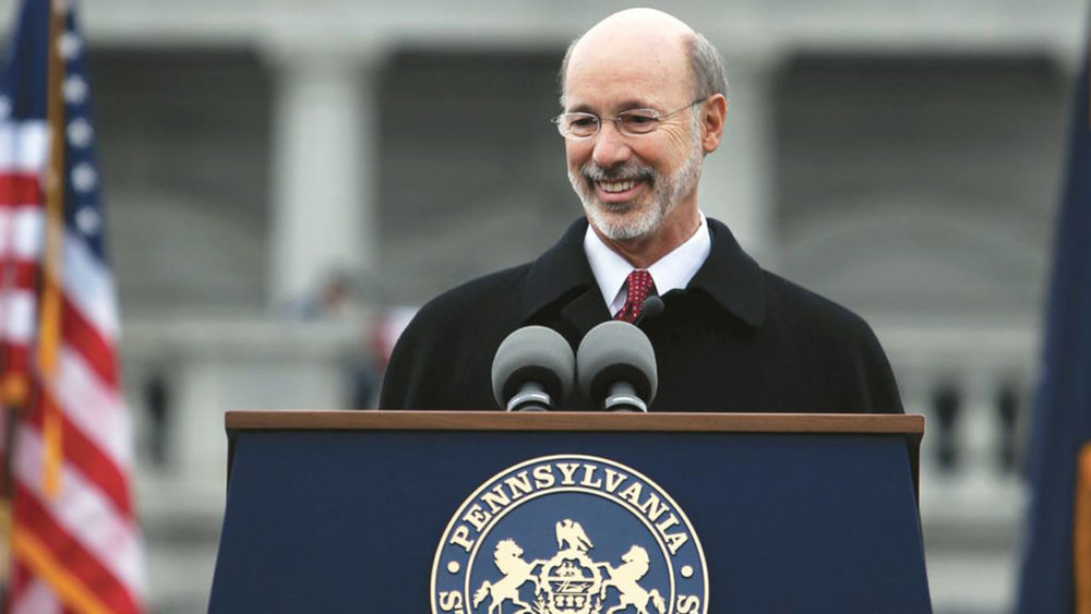 Pennsylvania Governor Tom Wolf -