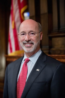 Gov. Tom Wolf - Incumbent Governor of Pennsylvania