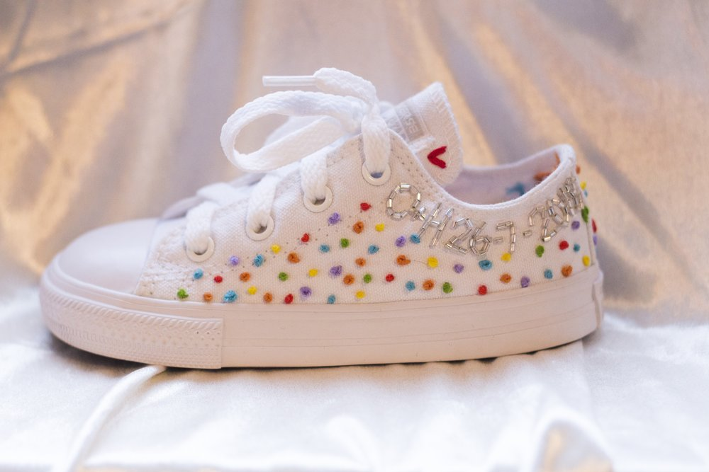 Little Rainbow Spots - Pops of colour and adorable.