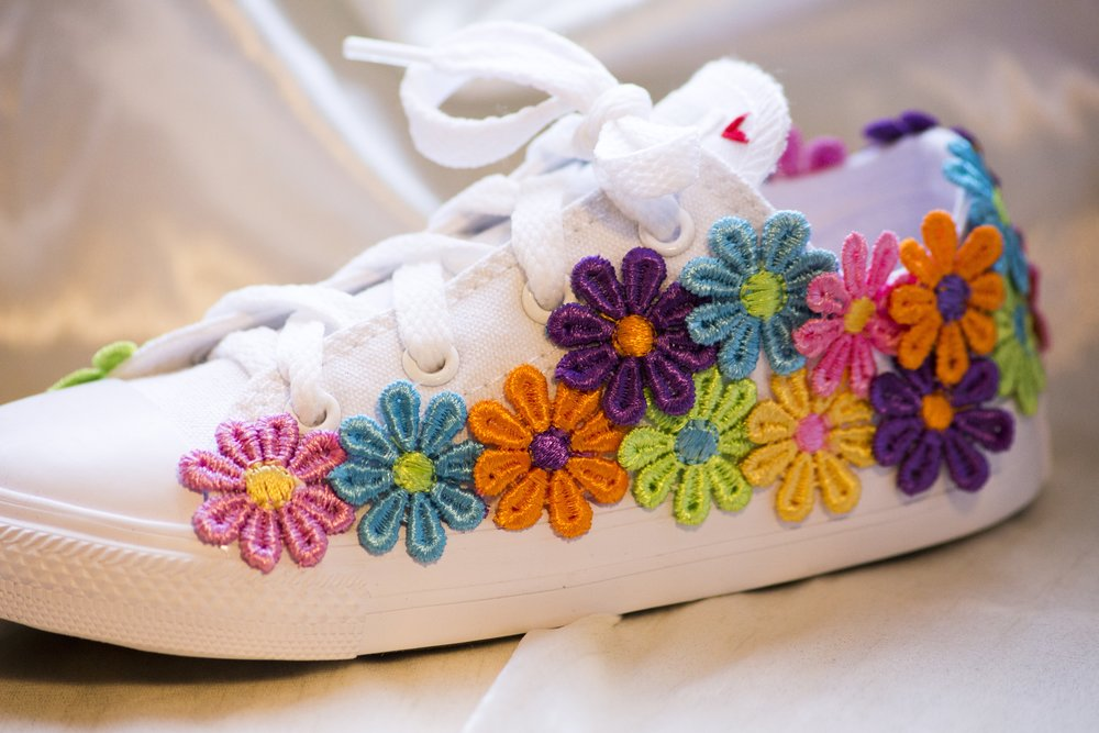 Little Flower - Bright, bold and ridiculously cute.