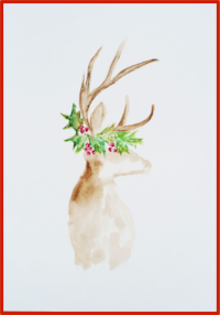 Watercolor Reindeer.png