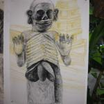 Drawing by Diane Richey Ward