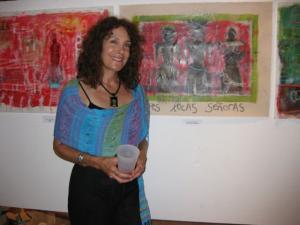 Artist Susan Riegel