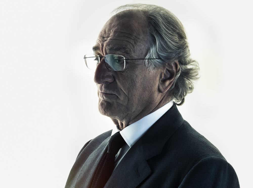 "HBO's  ""WIZARD OF LIES"". ROBERT DE NIRO AS BERNIE MADOFF"