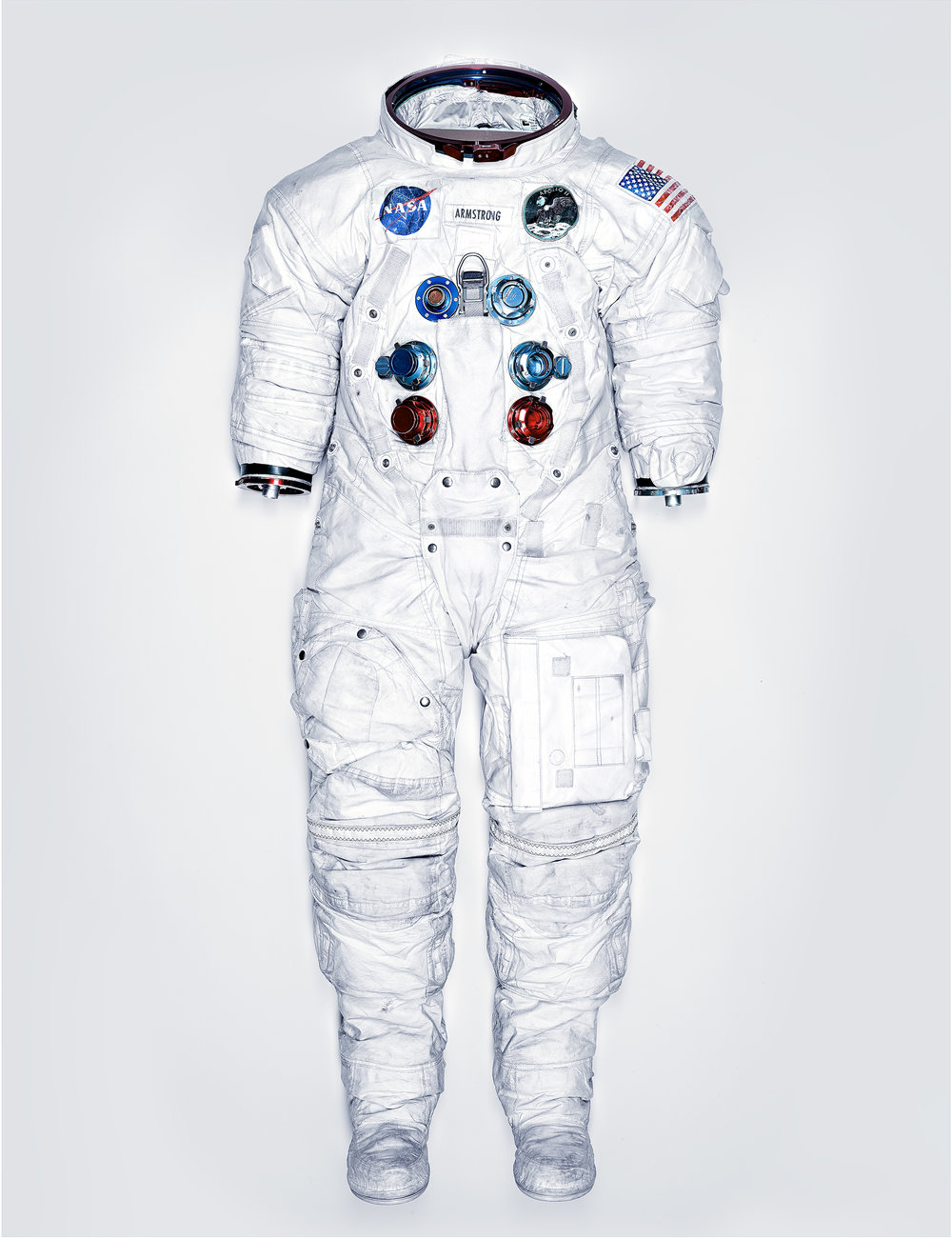 NEIL ARMSTRONG'S APOLLO SPACE SUIT