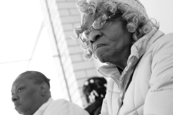 Elderly lady, Minneapolis, May 2017