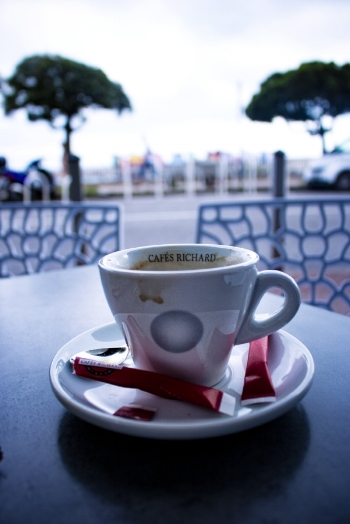 Coffee by the Quai, Nice, 2018