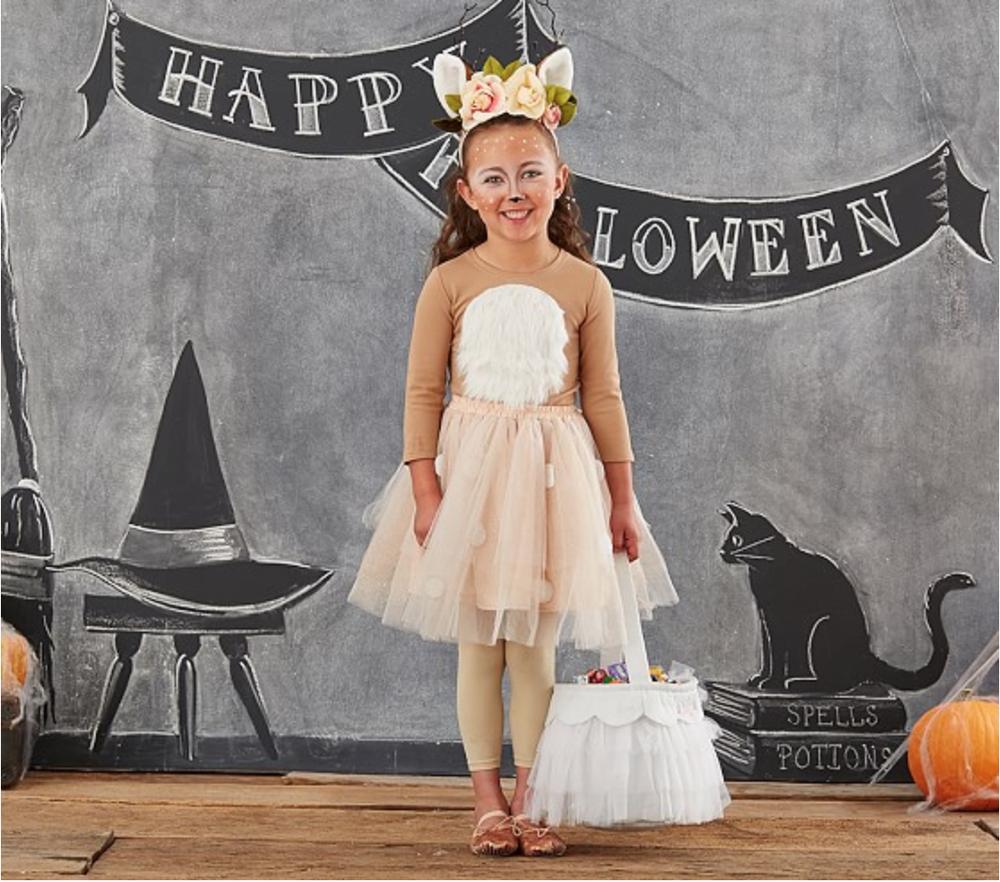 {Pottery Barn Kids} Woodland Deer Tutu Halloween Costume $79