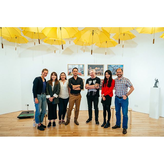 Thank you @clementinemarcelli @kayolu @artexchange for exhibiting my work and hosting the Q&A. You guys put on a wonderful exhibition. Thanks! #photographyexhibition #exhibition #photojournalism #umbrellamovement #qanda