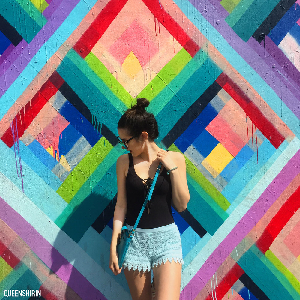 Wynwood Walls Miami Florida Queen Shirin