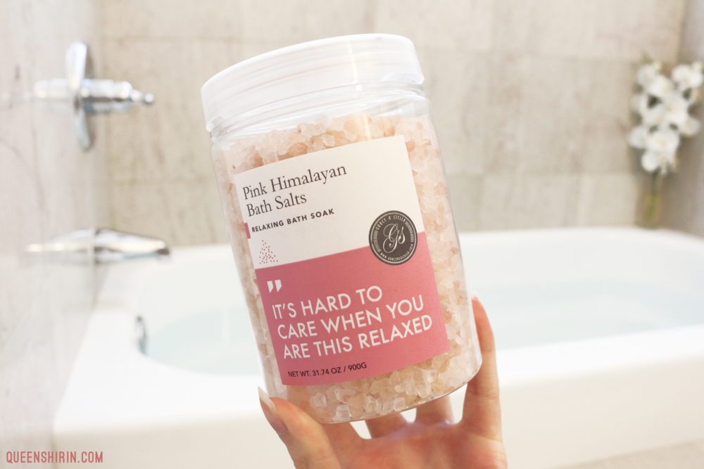 Grace and Stella Pink Himalayan Bath Salts Queen Shirin