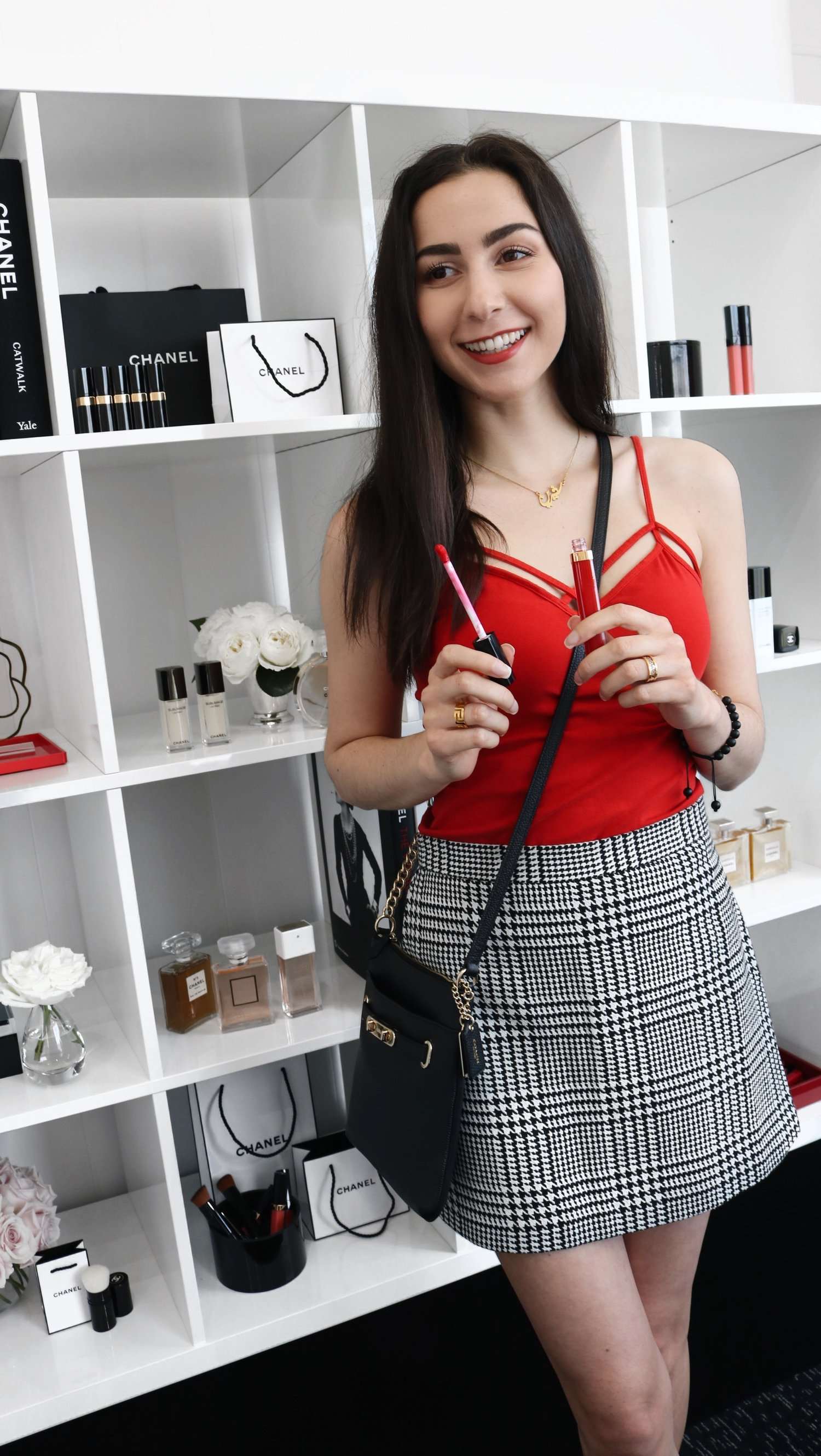 4cf42ebd2 2018 Trend: How to Style Plaid Skirts — Queen Shirin   Los Angeles Beauty,  Fashion, and Lifestyle Content Creator