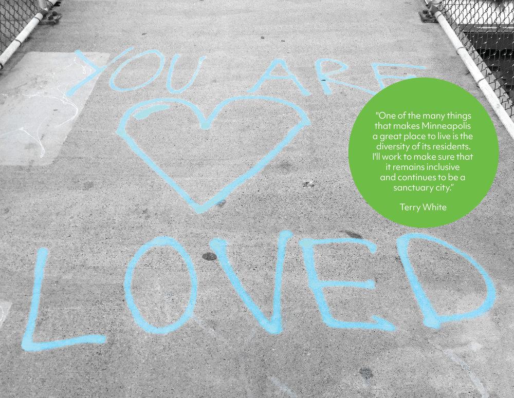 Message found on the 40th street pedestrian bridge