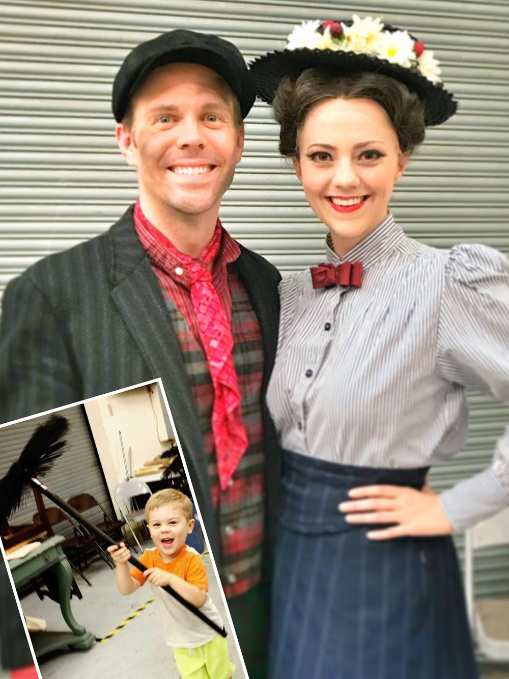 With Mallory Hawks as Mary. And a Chimney Sweep in training.