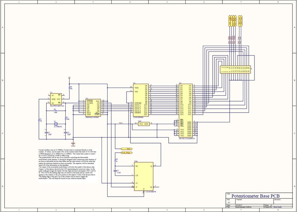 Driver board schematic