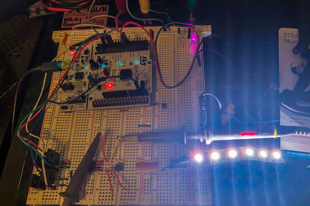 Minimum viable product assembled and working on a breadboard. Now time for the fun part.