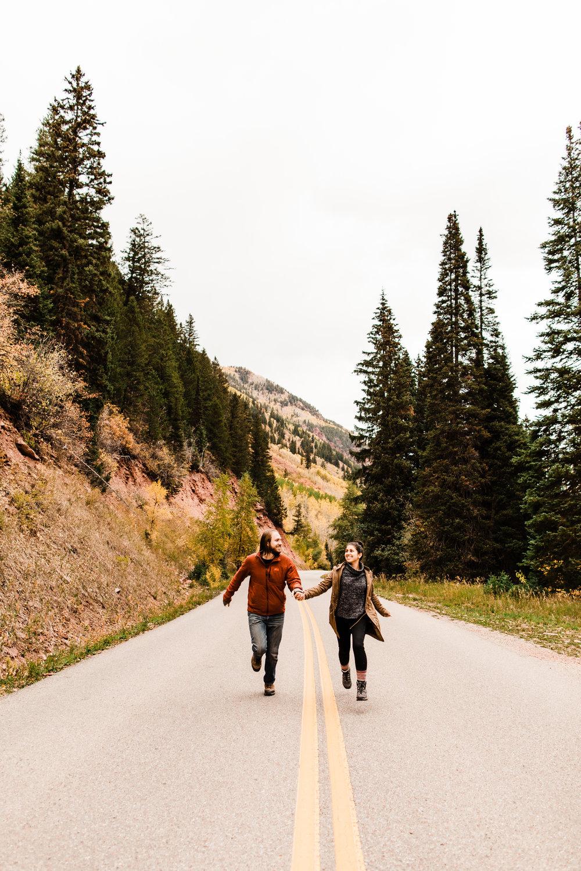Aspen Colorado engagement session at Maroon Bells | Best Aspen elopement photographers