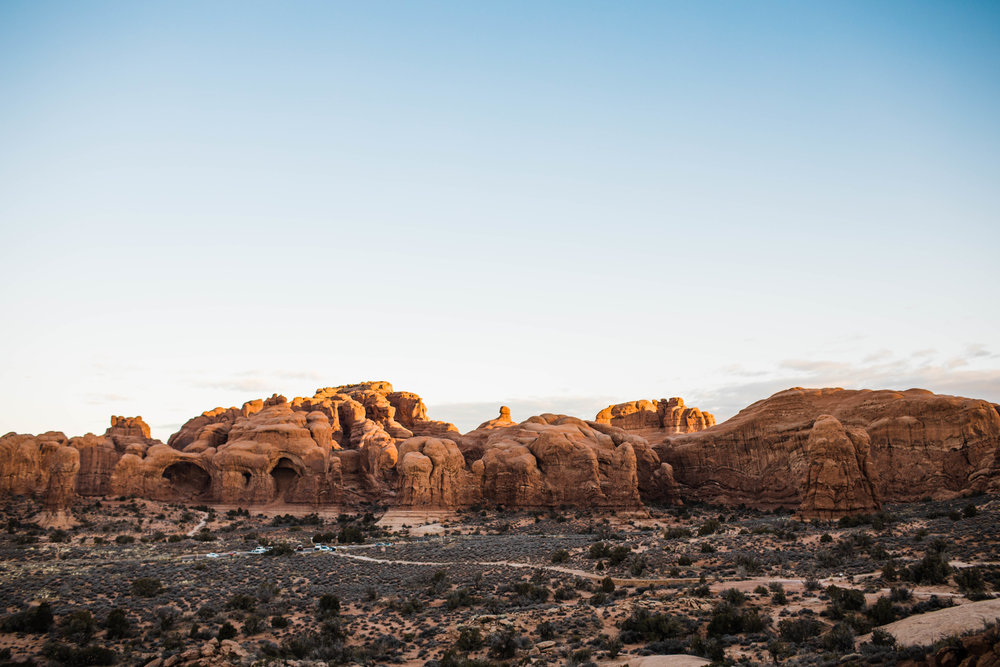 Sunrise in Moab | Utah Adventure Wedding Photographer
