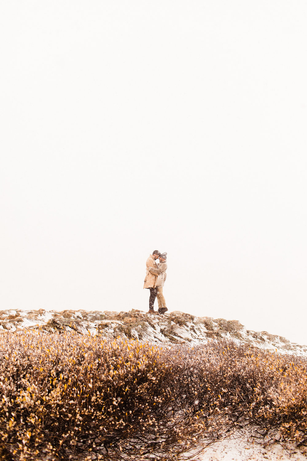 Independence Pass Rocky Mountain Adventure Mountain Engagement Session | wedding photographers in Aspen Colorado