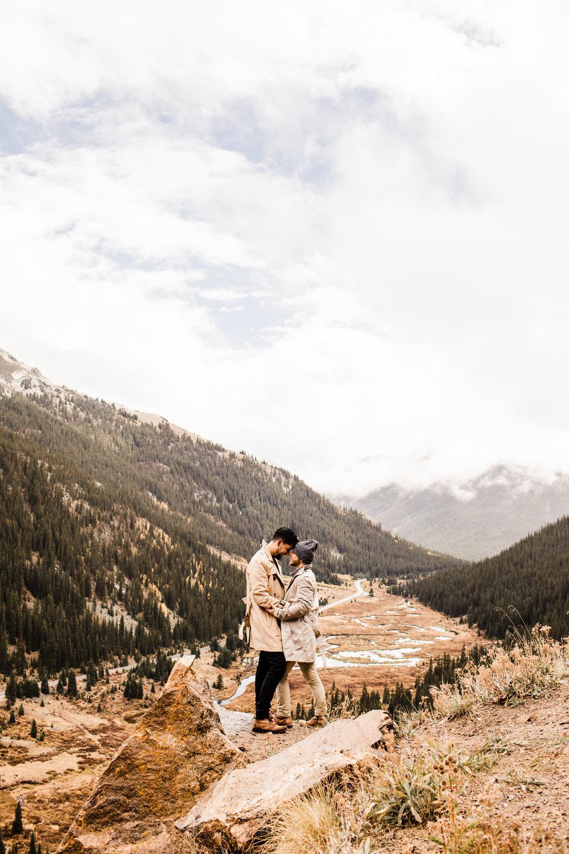 Independence Pass Rocky Mountain elopements | Best elopement photographers near Aspen